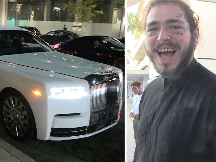 Post Malone Gets Bigger and Better Rolls-Royce After Car ...