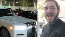 Post Malone Gets Bigger and Better Rolls-Royce After Car Crash