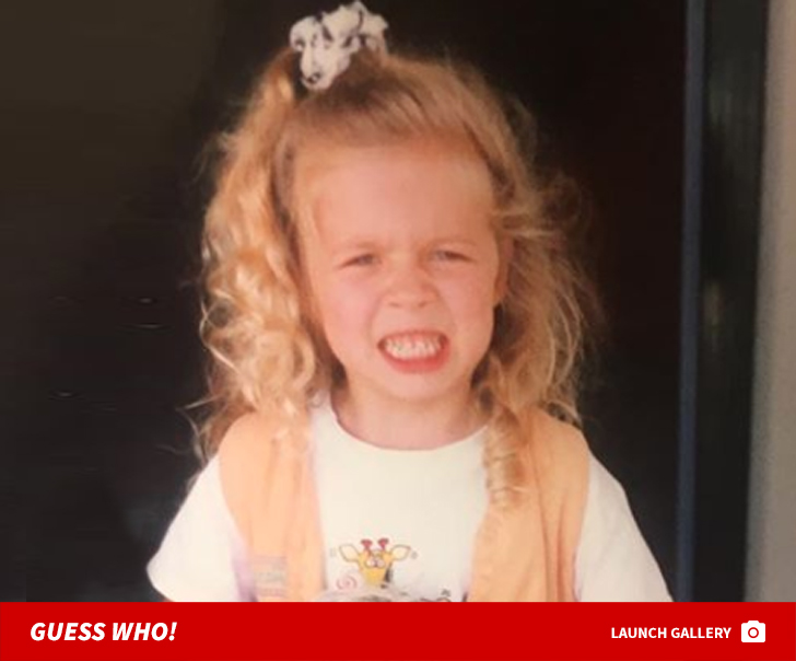 Guess Who This Mean-Mugging Kid Turned Into!