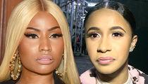 Nicki Minaj Says Cardi B Fight Has Made Her the Winner in Album Sales and Radio