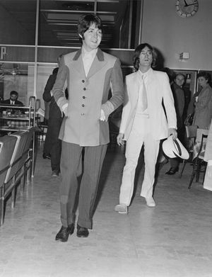 John Lennon and Paul McCartney Together