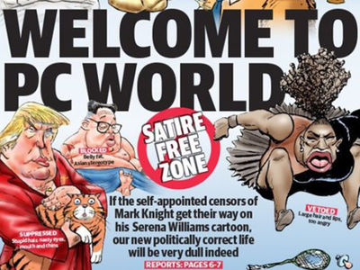 Racist Serena Cartoon, Newspaper Doubles Down and Attacks 'PC' Critics