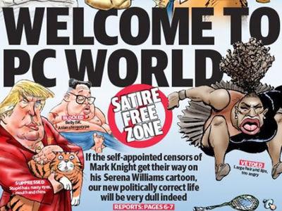 Racist Serena Cartoon, Newspaper Doubles Down and Attacks 'PC' Critics