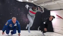 Usain Bolt Smokes Astronaut In Zero Gravity Foot Race
