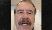 Ex-Mexico President Vicente Fox, 'I'm With De La Hoya!'
