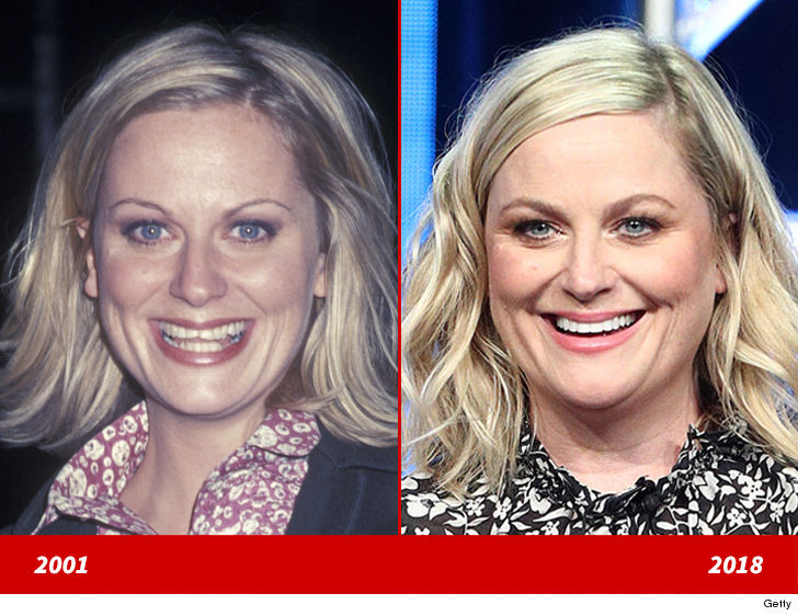 """Amy Poehler's good looks are truly worthy of the big screen! Here's a 30-year-old version of the former """"Saturday Night Live"""" cast member at a…"""