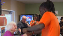 Bengals' Dre Kirkpatrick In Rap Dance Party at Nursing Home!