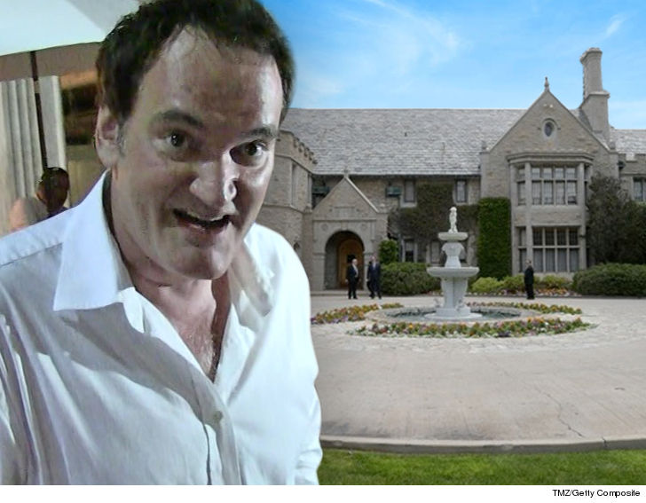 Playboy Mansion To Host Tarantino's 'Once Upon a Time in Hollywood' Party