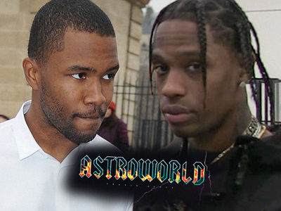 Frank Ocean and Travis Scott Beefing Over 'Astroworld' Collaboration