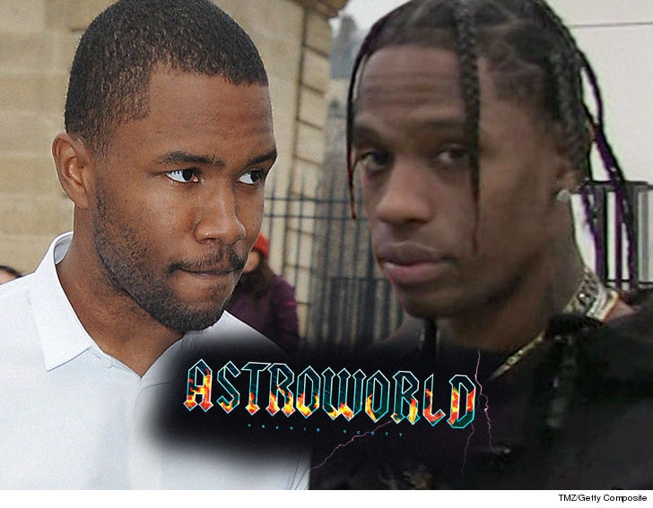 Frank Ocean and Travis Scott have settled their alleged feud