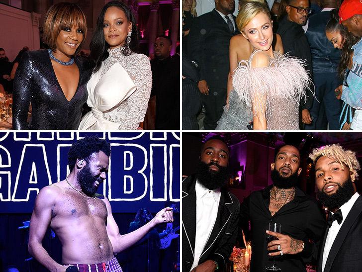 Rihanna Shines Bright Among Stars at Her NYFW Diamond Ball Bash