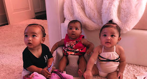 Kim Kardashian West Shares Photo of All Three Family Babies Together