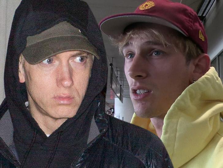 Eminem Responds to MGK Diss Track with 'Killshot'