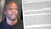 Terry Crews Posts Apology Letter He Got from Adam Venit