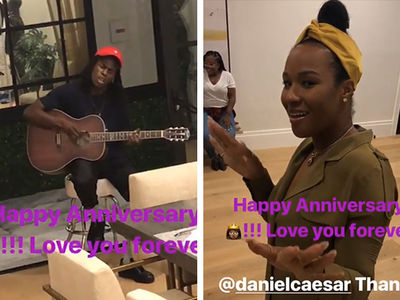 LeBron James Gets Daniel Caesar to Serenade Savannah For Wedding Anniversary