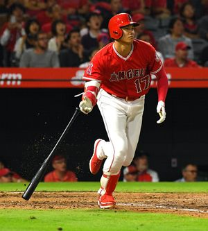Shohei Ohtani In Action