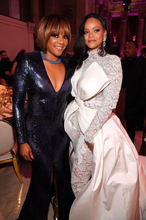 Tiffany Haddish and Rihanna