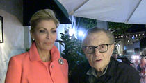 Larry King Says Julie Chen Was Right To Stand By Les Moonves