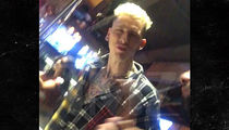Machine Gun Kelly's Crew Viciously Stomps Out Actor Who Called Him a 'P****'