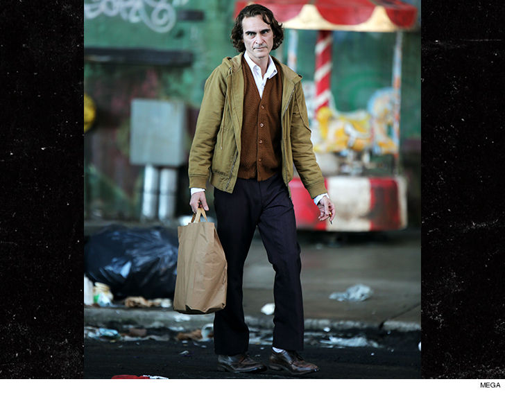Joaquin Phoenix's first look as Joker revealed