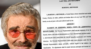 Burt Reynolds' Will Says His Niece, Not His Son Will Manage Estate
