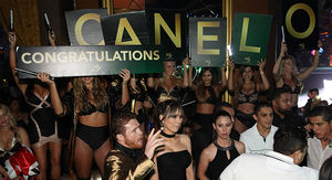 Canelo Alvarez Hit Vegas Nightclub After GGG Victory