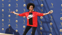 'Black-ish' Star Jenifer Lewis Rocks Nike to Emmys, 'I'm With Kaepernick'