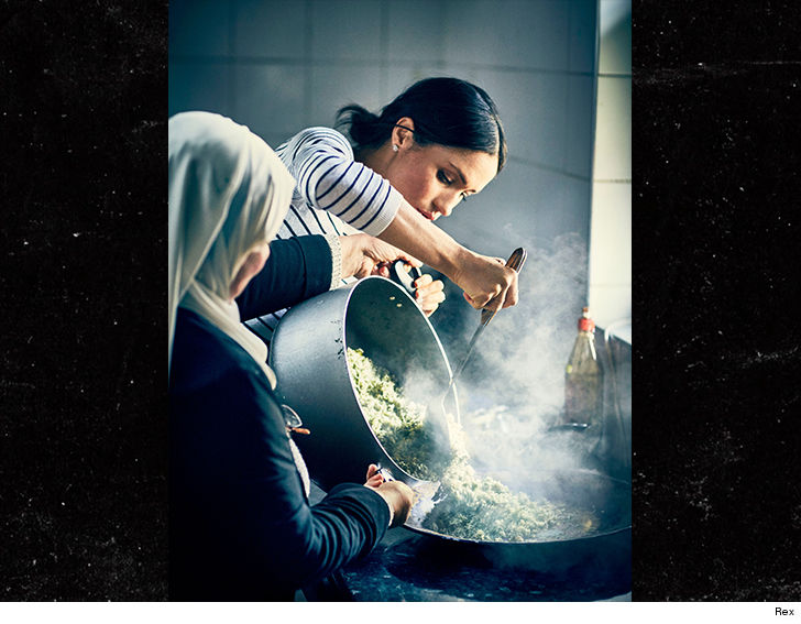 Duchess of Sussex launches Grenfell charity cookbook