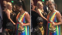 Katt Williams and Tiffany Haddish Squash Their Beef at the Emmys