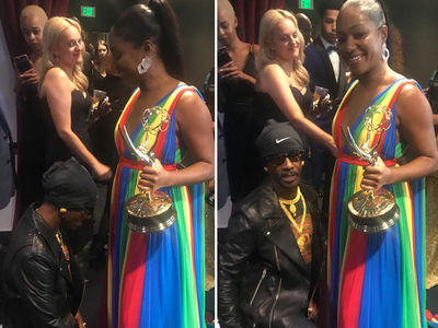 Katt Williams and Tiffany Haddish Squash Their Beef at the Emmys