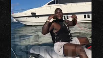 LeVeon Bell Hits the Jet Skis In Miami, Pay Me Already!