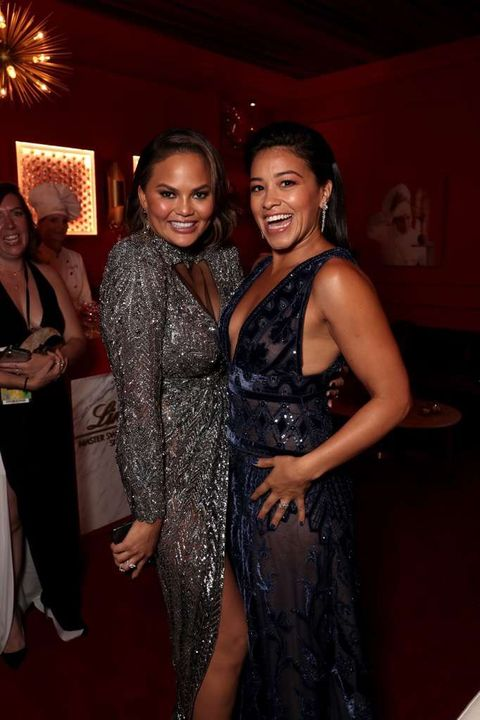 Chrissy Teigen and Gina Rodriguez