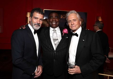 Antonio Banderas, Tracy Morgan and Michael Douglas