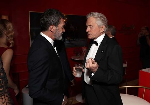 Antonio Banderas and Michael Douglas