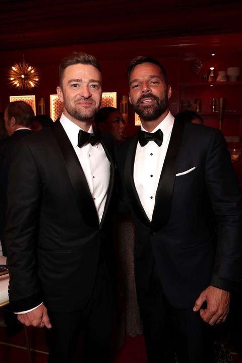 Justin Timberlake and Ricky Martin