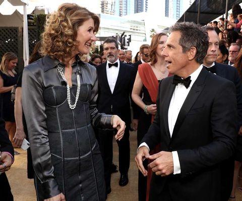 Laura Dern and Ben Stiller