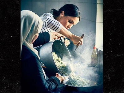 Meghan Markle Cooks With Victims of Grenfell Tower Fire, Releases Charity Cookbook