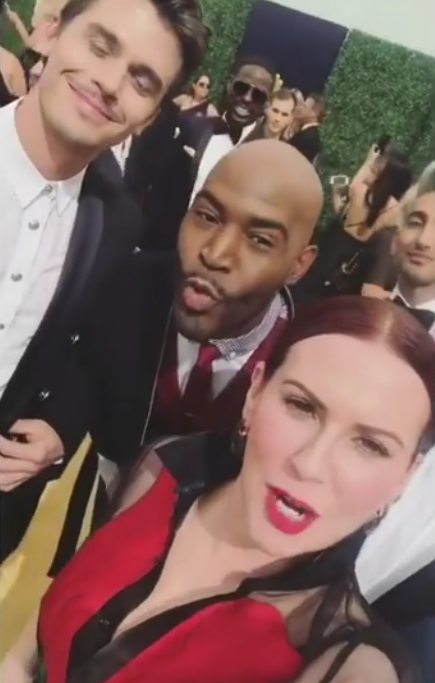 Megan Mullally and the 'Queer Eye' Cast
