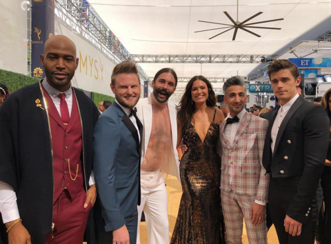 'Queer Eye' Cast and Mandy Moore