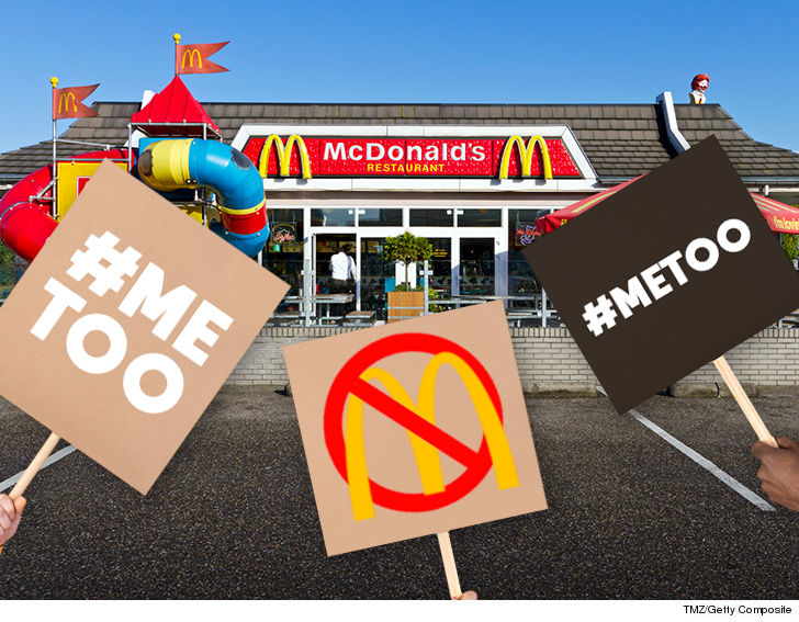#MeToo Movement Takes on McDonald's as Workers Strike Against Sexual Harassment 'Epidemic'