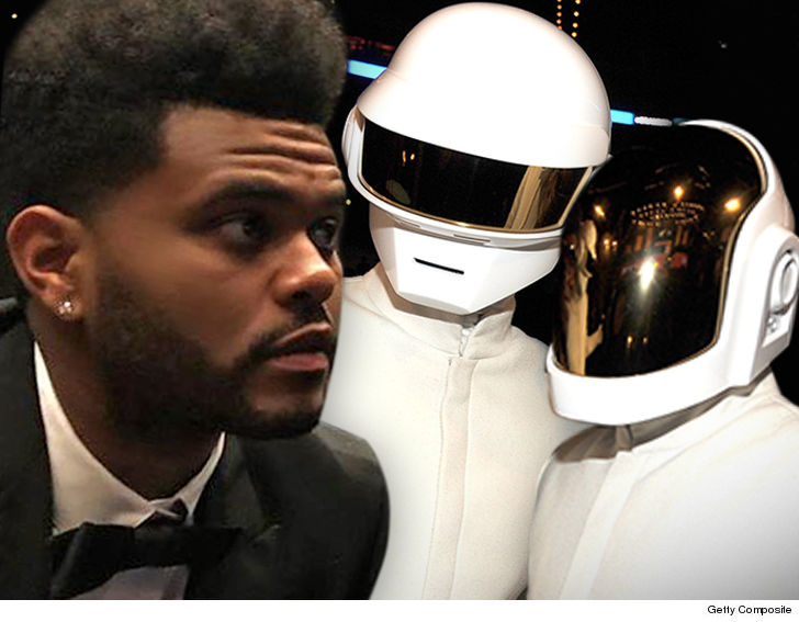 Daft Punk and The Weeknd are being sued for alleged plagiarism