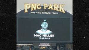 Pittsburgh Pirates Hold Moment Of Silence For Mac Miller