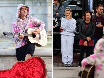 Justin Bieber Serenades, Smooches Hailey Baldwin Amid Marriage Speculation