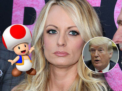 Stormy Daniels RUINS 'Mario Kart' with THIS Description of Trump's Penis