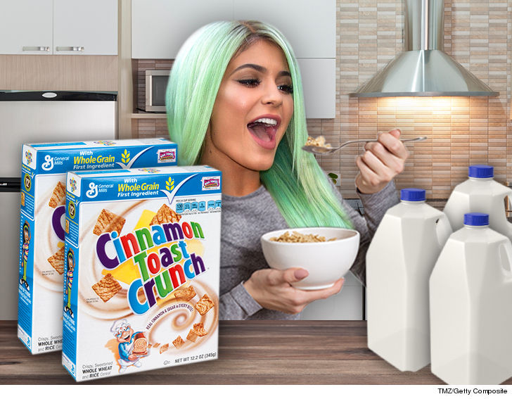 Image result for Kylie Jenner cereal