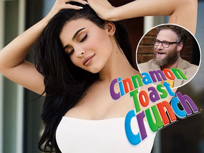 Seth Rogen, Entire Internet Trolls Kylie Jenner After She Puts Milk In Her Cereal for the First Time