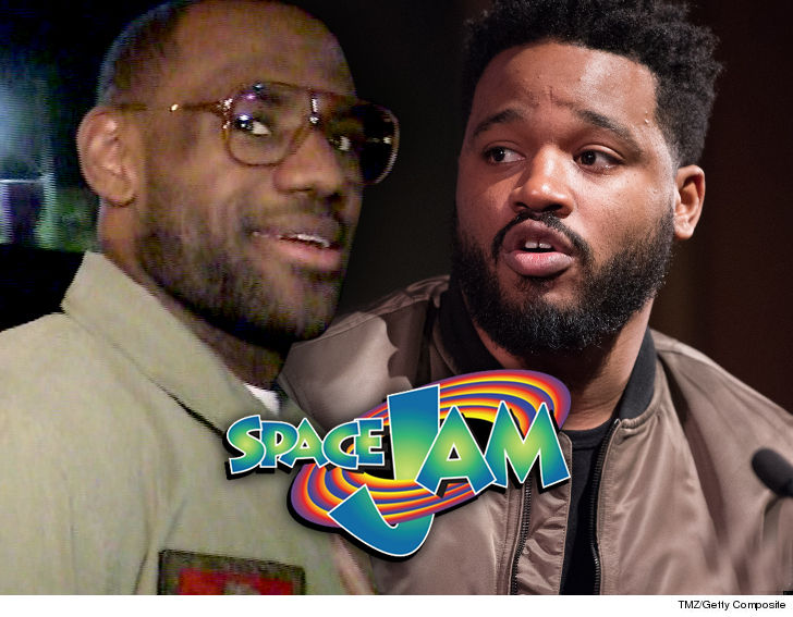 LeBron James, 'Black Panther's' Ryan Coogler Team Up for 'Space Jam' Sequel
