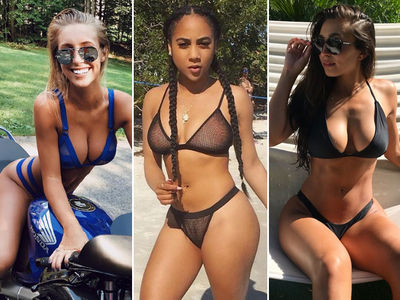 Meet The NFL's Rookie Class ... Of Smokin' Hot WAGs!!