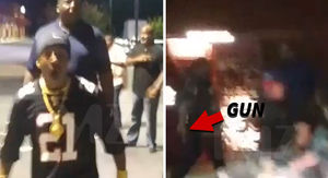 Katt Williams' Atlanta Gun Incident Caught on Video