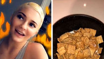 Kylie Jenner's Lying About Never Having Cereal with Milk